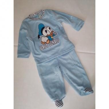 Pijama Laminado com pé - Pato Donald