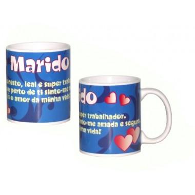 """Caneca """"Marido"""""""