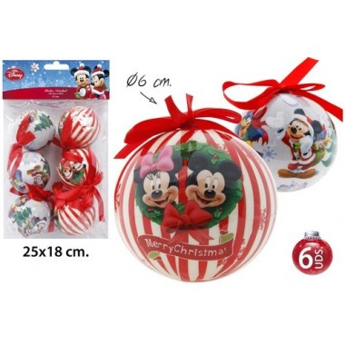 Bolas de Natal - Disney