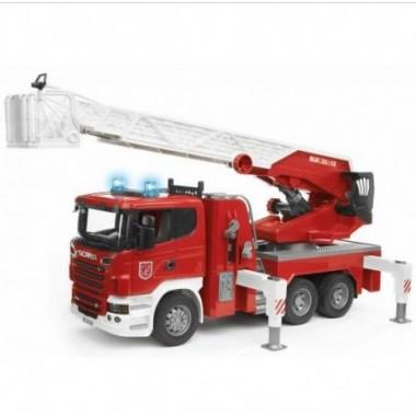 Camião dos bombeiros Scania R-Series - Bruder