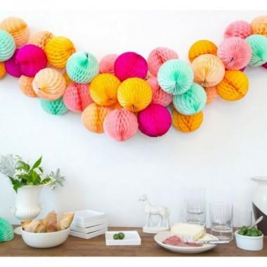 Pompons / Bola de Papel Decorativa