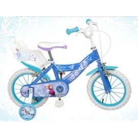 """Bicicleta Disney Frozen 16"""""""