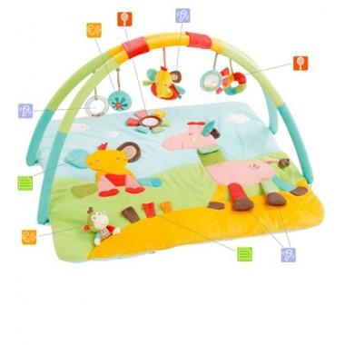Tapete de actividades - Babyfehn 3-D Safari