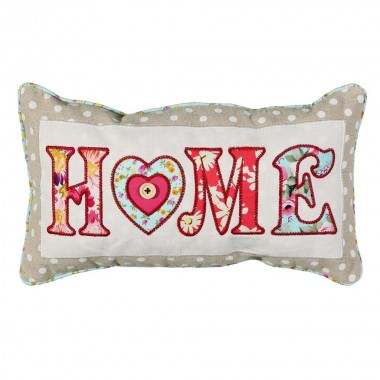 Almofada rectangular patchwork - Home