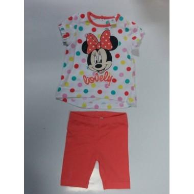 Conjunto T-shirt + Legging Bebé -  Minnie