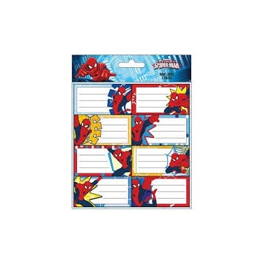 Etiquetas identificativas cadernos Frozen - 2 folhas