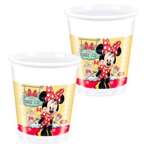 Copos Minnie Disney Cafe - 200 ml