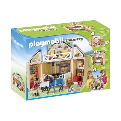 Playmobil Maleta Estábulo de Cavalos