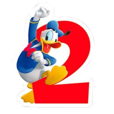 Vela de Aniversário Mickey e Amigos - N.º 2
