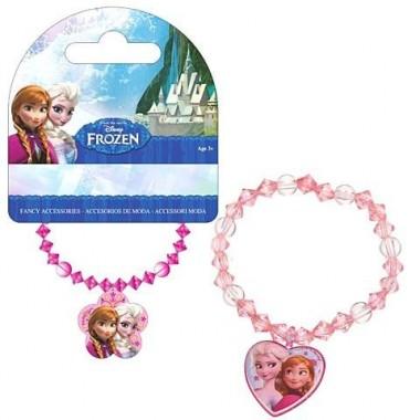 Pulseira C/ pendente Frozen
