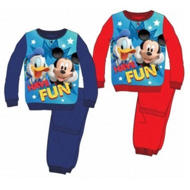 Pijama de Algodão - Mickey Mouse
