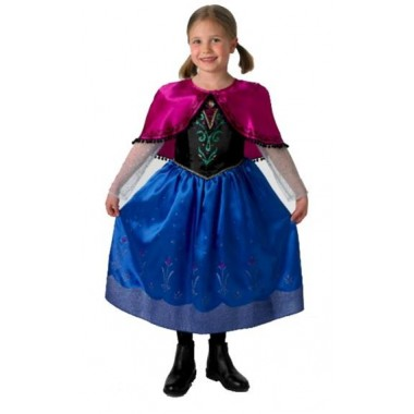 Fato de Carnaval - Anna Frozen
