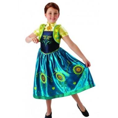 Fato de Carnaval - Anna Frozen Fever Disney