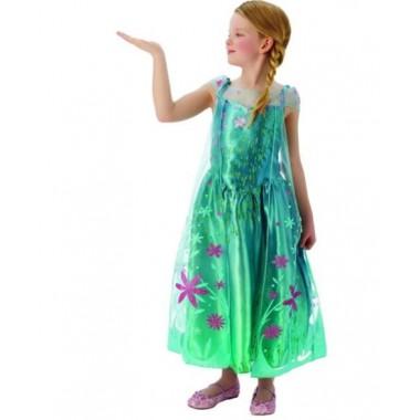 Fato de Carnaval - Elsa Frozen Fever
