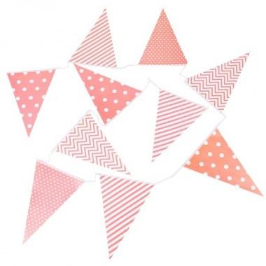 Bandeiras Triangulares em papel