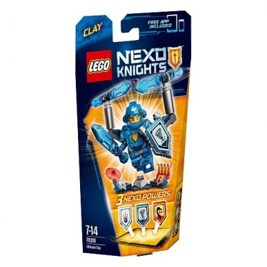 LEGO Nexo Knights - Clay Ultimate