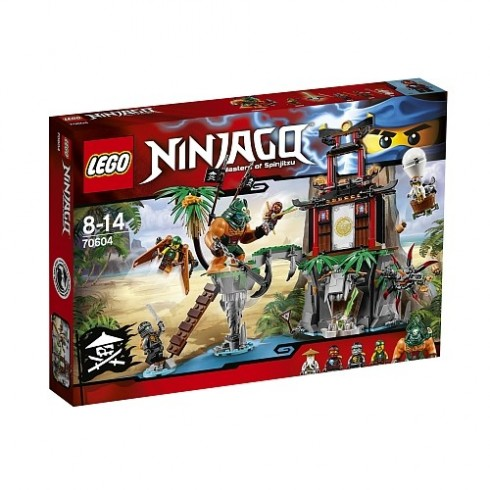 LEGO Ninjago - Ilha Da Viúva Tigre