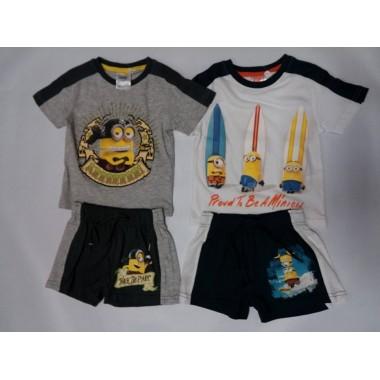 Conjunto de T-shirt + calção - Minions