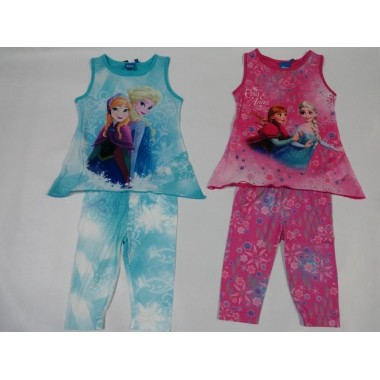 Conjunto Top + Legging - Frozen