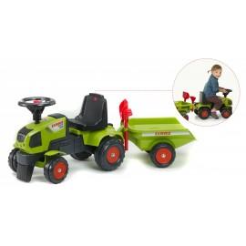 Tractor Falk com atrelado e acessórios