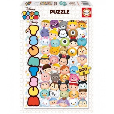 Puzzle 500 peças - Tsum Tsum - Educa