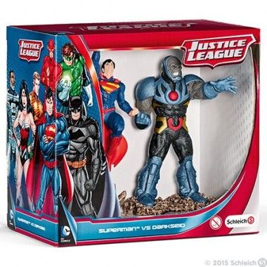 Superman vs Darkseid Scenery Pack - Schleich