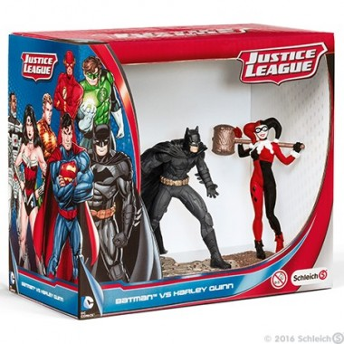 Batman vs. Harley Quinn Pack - Schleich