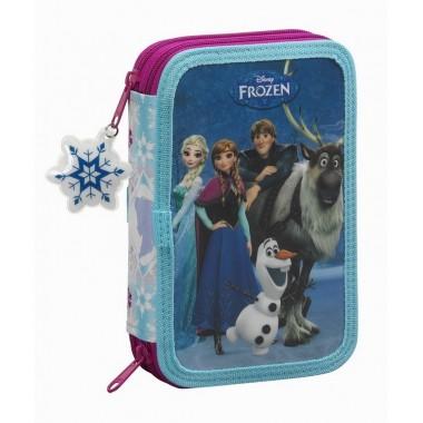 Estojo Duplo Completo Frozen