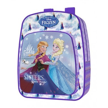 Mochila  Escolar adptável a trolley  Frozen  - 40 cm