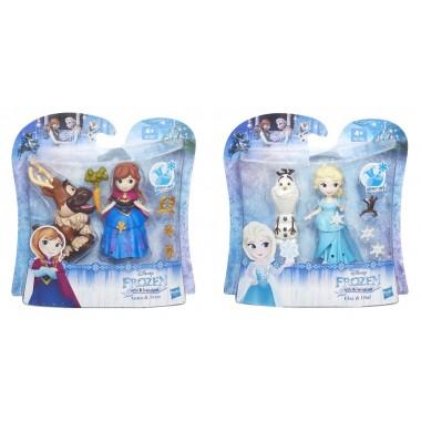 Bonecas Frozen com acessórios - Elsa / Anna