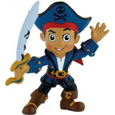 Capitão Jake - Figura Jake e os Piratas da Terra do Nunca - Bullyland