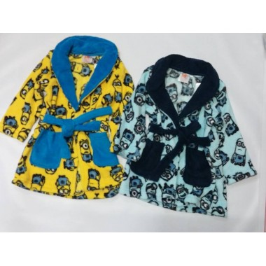 Robe fleece Minions