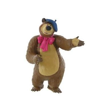 Urso Pintor - Masha e Urso - Bullyland - Comansi
