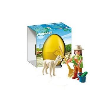 Playmobil - Tratadora com alpaca