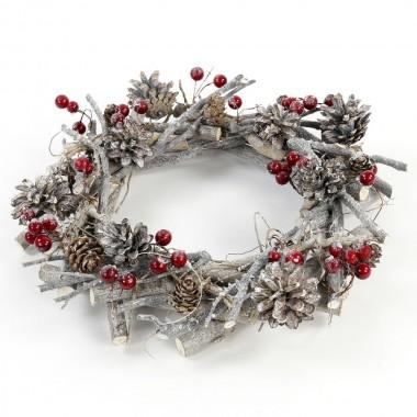 Coroa de porta - Natal
