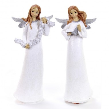 Anjo de resina - Decoração Natal