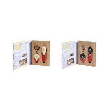 Conjunto metal  Volkswagen - Porta chaves + Navalha