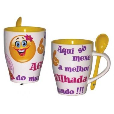 """Caneca """"Afilhada"""""""