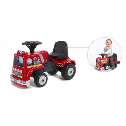 Falk - Carro de bombeiros para bebé - 1 a 3 anos