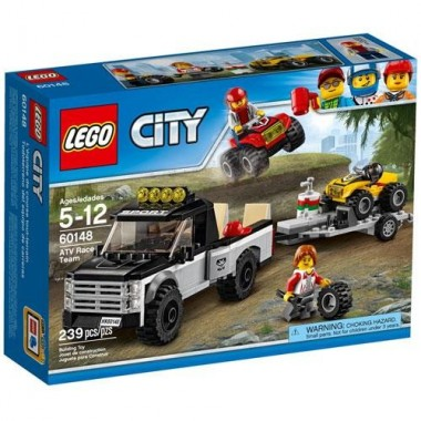 LEGO City - 4x4 com Catamarã