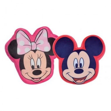 Almofada cabeça Mickey Mouse / Minnie Mouse