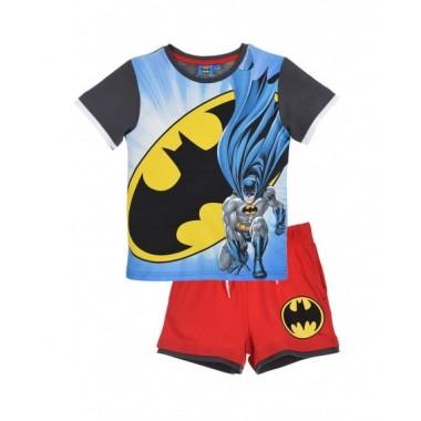 Conjunto de T-shirt + calção - Batman
