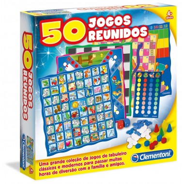 50 Jogos Reunidos - Clementoni