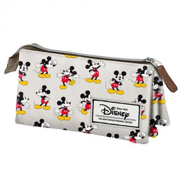 Estojo Mickey Disney Original Triplo