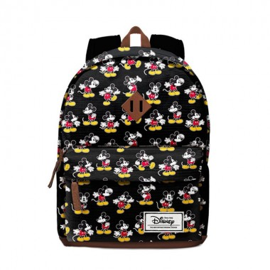 Mochila  Escolar Freetime Mickey Disney Moving - 42 cm