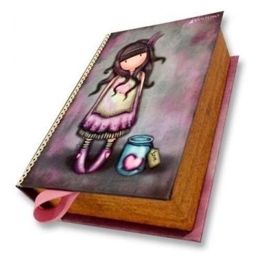 Caixa Livro guarda jóias - Gorjuss