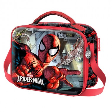 Lancheira térmica Spiderman Marvel Dark