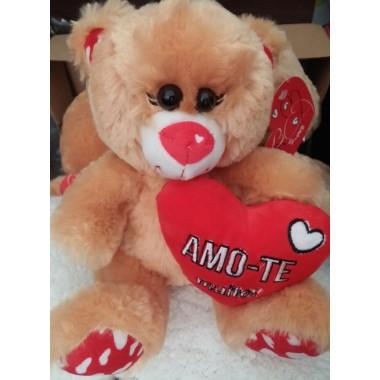 Urso de Peluche 30 cm - Amo-te Muito (Namorados)