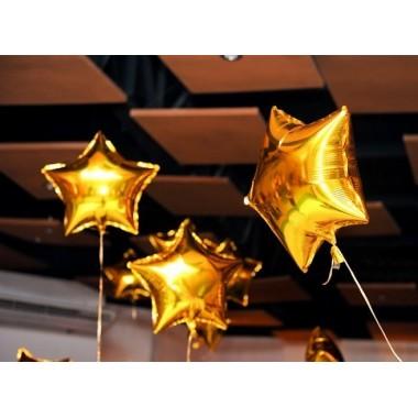 Balão metalizado - 48 cm - Estrela