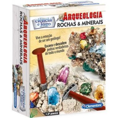 Ciência e Jogo - Arqueologia - Rochas e Minerais